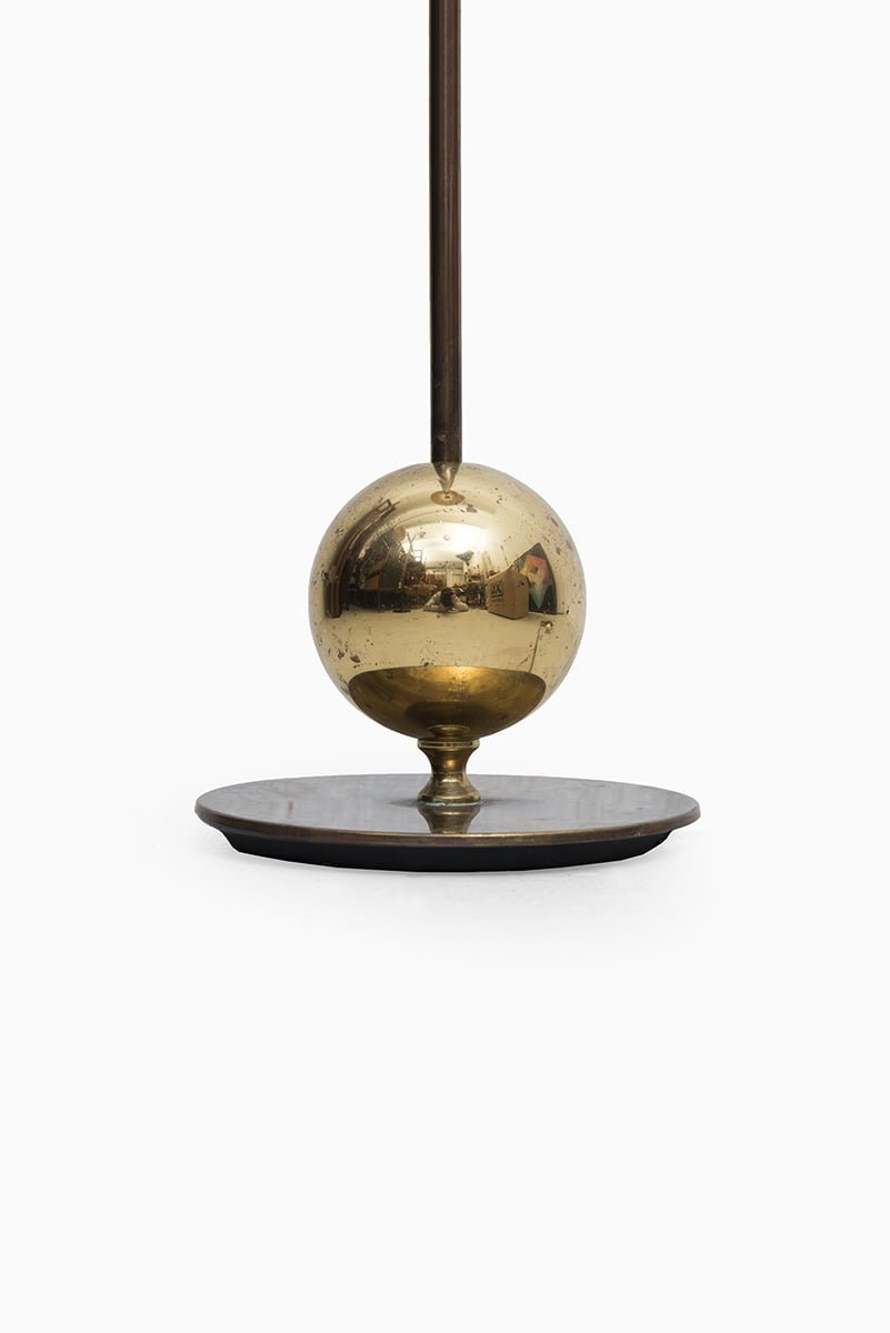 Stilarmatur in Tranås floor lamp in brass at Studio Schalling