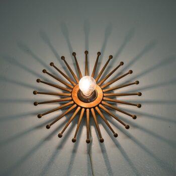 Hans-Agne Jakobsson wall lamp in teak at Studio Schalling
