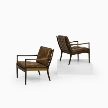 Ib Kofod-Larsen easy chairs model Samsö by OPE at Studio Schalling