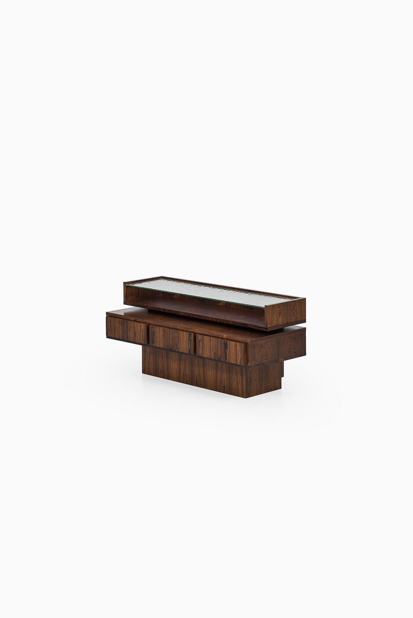 Rosewood drawer in the manner of Ib Kofod-Larsen at Studio Schalling
