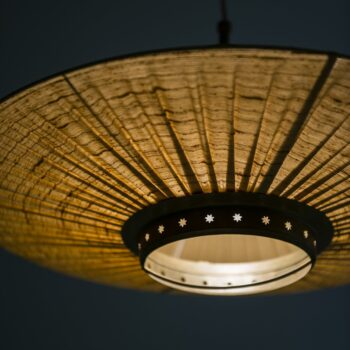 Ceiling lamp in the manner of Hans Bergström at Studio Schalling