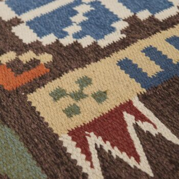 Mid century rölakan carpet at Studio Schalling