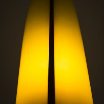 Hans-Agne Jakobsson wall lamps in yellow plastic at Studio Schalling