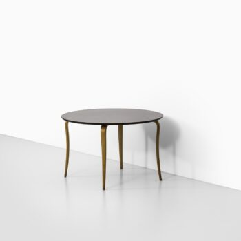 Sture B. Ohlsson coffee table in beech and mahogany at Studio Schalling