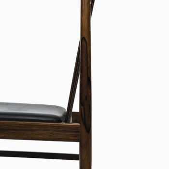 Arne Vodder dining chairs model 422 by Sibast at Studio Schalling