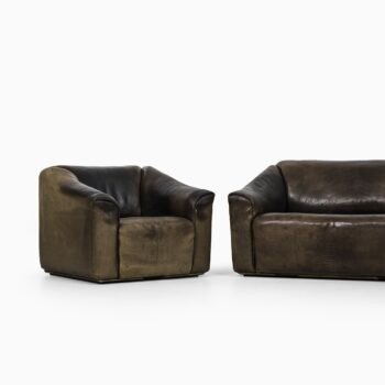 De Sede DS-47 sofa and easy chair in thick bullhide at Studio Schalling