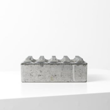 Beck & Jung ashtray Ultima 15 in Aluminium at Studio Schalling