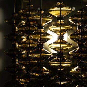 Hans-Agne Jakobsson wall lamps model V-258 / Estrella at Studio Schalling