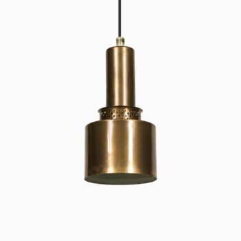 Hans-Agne Jakobsson ceiling lamps in copper at Studio Schalling