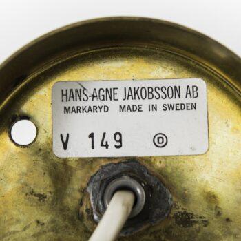 Hans-Agne Jakobsson wall lamps model V-149 at Studio Schalling