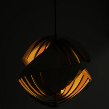 Louis Weisdorf ceiling lamp model Konkylie at Studio Schalling
