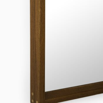 Aksel Kjersgaard mirror in teak by Odder at Studio Schalling