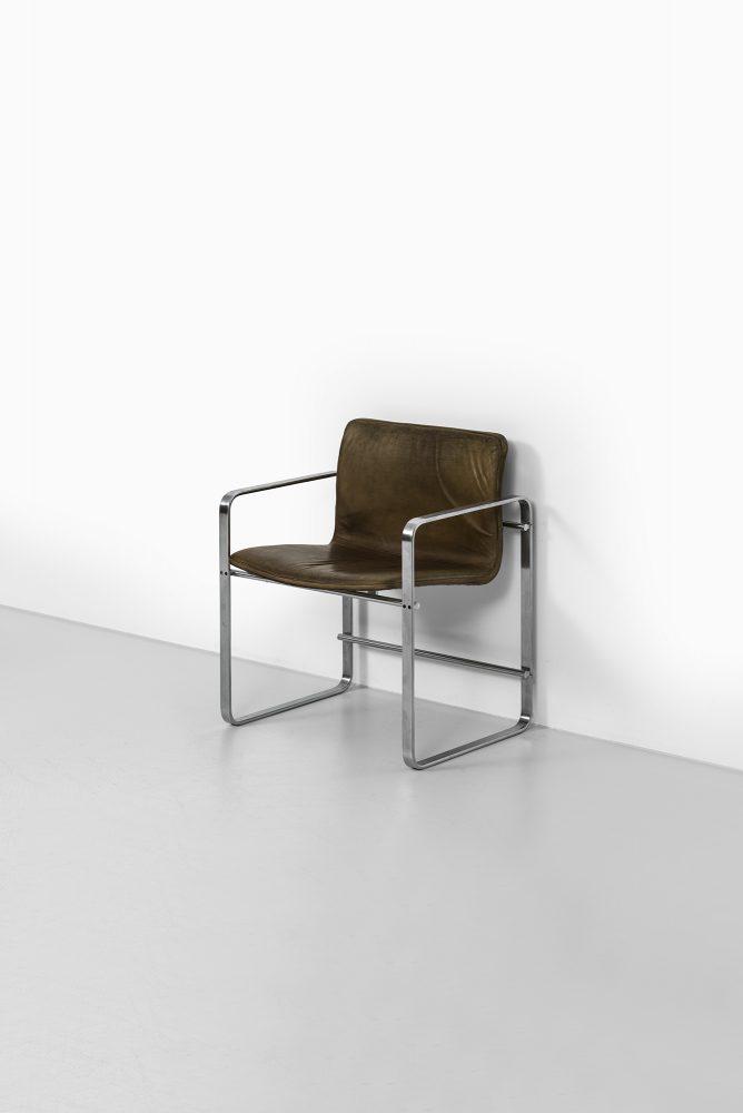 Jørgen Lund & Ole Larsen armchairs model BO-810 at Studio Schalling