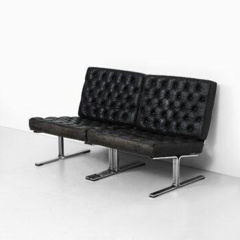 Karl-Erik Ekselius easy chairs model F60 at Studio Schalling