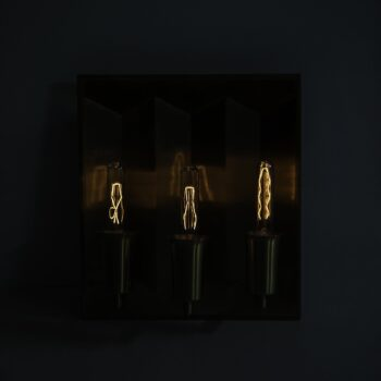Rare set of 4 wall lamps by Fog & Mørup at Studio Schalling