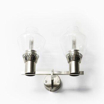 Hans-Agne Jakobsson wall lamps model V-323/2 at Studio Schalling