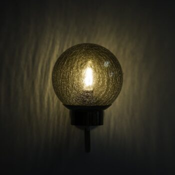 Bergboms wall lamps model V-118 at Studio Schalling