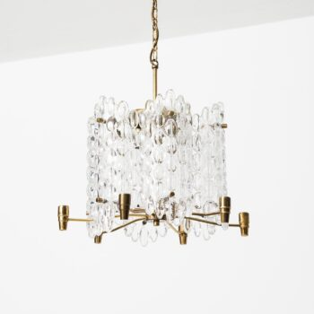 Carl Fagerlund ceiling lamps by Orrefors at Studio Schalling