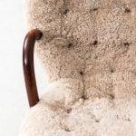 Philip Arctander clam easy chair at Studio Schalling
