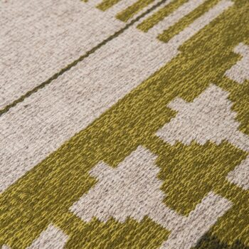 Mid century carpet produced in Sweden at Studio Schalling