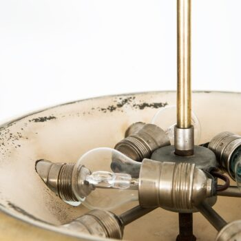 Ceiling lamp in brass by Böhlmarks at Studio Schalling