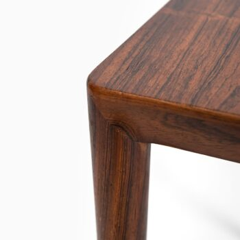 Severin Hansen nesting tables in rosewood at Studio Schalling