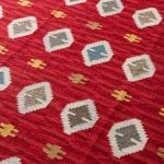 Large mid century carpet at Studio Schalling
