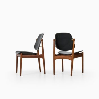 Arne Vodder dining chairs model 203 at Studio Schalling