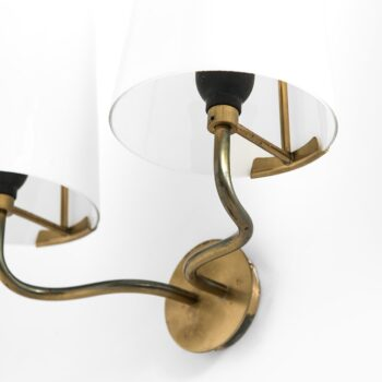 Rare pair of wall lamps by Fog & Mørup at Studio Schalling
