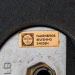 Floor lamps in rosewood by Falkenbergs belysning at Studio Schalling