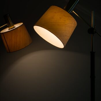 Floor lamps in rosewood by Falkenbergs belysning at Studio Schalling
