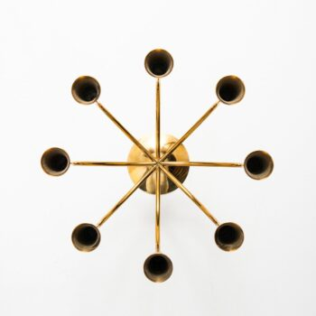 Brass candle holder by Illum Bolighus at Studio Schalling