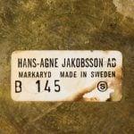 Hans-Agne Jakobsson table lamp model B-145 at Studio Schalling