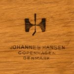 Hans Wegner desk model JH 571 at Studio Schalling