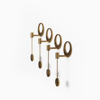 Arthur Pe wall hanged candlesticks at Studio Schalling