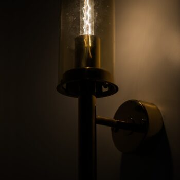 Hans-Agne Jakobsson wall lamps model V-169 at Studio Schalling