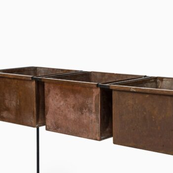 Hans-Agne Jakobsson flower table in copper at Studio Schalling