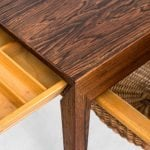 Severin Hansen side table in rosewood at Studio Schalling