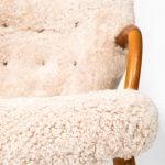 Philip Arctander clam easy chairs at Studio Schalling