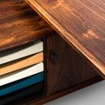 Arne Vodder desk model 209 in rosewood at Studio Schalling