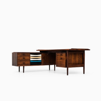 Arne Vodder desk model 209 in rosewood at Studio Schalling