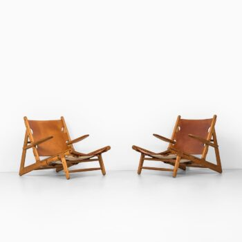 Børge Mogensen hunting easy chairs at Studio Schalling