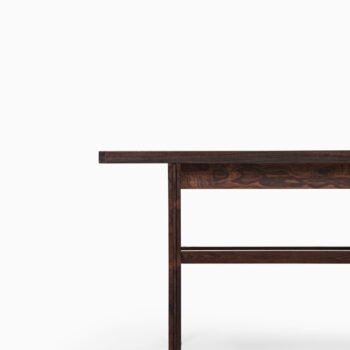 Jens Risom table in rosewood at Studio Schalling