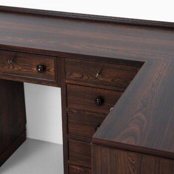 Corner desk / storage unit in the manner of Frode Holm at Studio Schalling