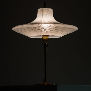 Peill & Putzler table lamp in brass and glass at Studio Schalling