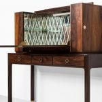Ernst Kühn bar cabinet in rosewood at Studio Schalling