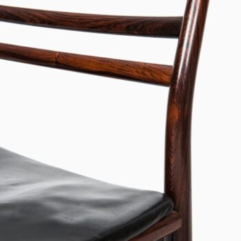 Erling Torvits dining chairs in rosewood at Studio Schalling