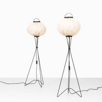 Pair of floor lamps at Studio Schalling