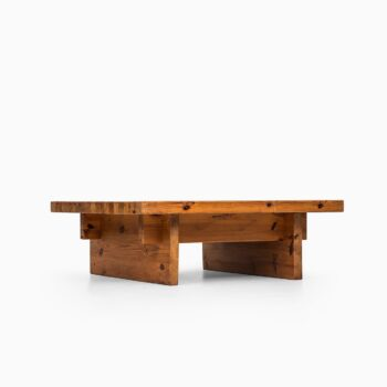 Roland Wilhelmsson coffee table in solid pine at Studio Schalling