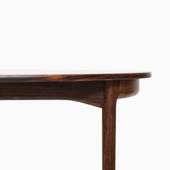 Ib Kofod-Larsen dining table in rosewood at Studio Schalling